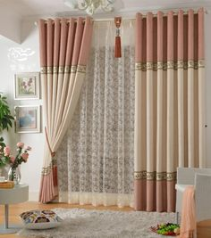 Curtain Design For Living Room Amusing How To Update Sheer Curtainsan Easy Diy  Sheer Curtains Decorating Design