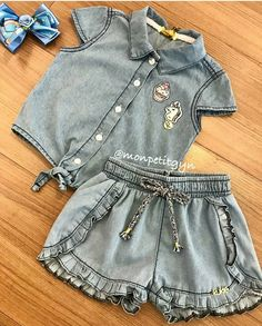 Boys Summer Outfits, Kids Outfits, Cute Outfits, Toddler Fashion, Fashion Kids, Baby Dress Design, Cute Baby Clothes, Chic Dress, Little Dresses