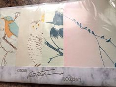 """18 Sealed Gwen Frostic Discontinued Collection of Note Cards """"Birds"""" 2 Sizes stores.ebay.com/urbanreseller"""