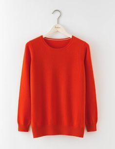Relaxed Cashmere Crew Neck