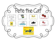 Pete The Cat I Love My White Shoes Kindergarten Activities