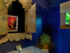 Classy And Gorgeous Moroccan Style Furniture Moroccan Blue