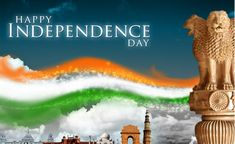 Independence Day Wishes 2018 india.Independance Day is yearly celebrated on 15 August, as a national holiday in India commemorating Happy Independence Day Wallpaper, Independence Day India Images, Independence Day Status, Happy Independence Day Wishes, Independence Day Greeting Cards, 15 August Independence Day, Bhakti Song, Wishes Images, Amai