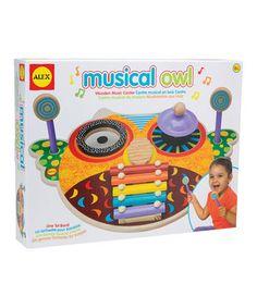 Loving this Owl Music Center on #zulily! #zulilyfinds
