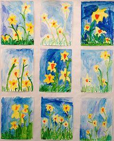 Grade ONEderful: A First Grade Teaching Blog: Spring Art...