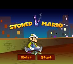 Stoned Mario Takes A Big Rip! New Marijuana Videogames And Their Elevated Play