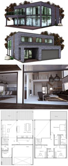 Container House - Container House - Modern House Plan Who Else Wants Simple Step-By-Step Plans To Design And Build A Container Home From Scratch? - Who Else Wants Simple Step-By-Step Plans To Design And Build A Container Home From Scratch? Minimalist House Design, Minimalist Architecture, Modern House Design, Minimalist Interior, Minimalist Bedroom, Minimalist Kitchen, Modern Interior Design, House Design Plans, Minimalist Scandinavian