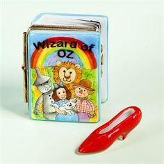Limoges Wizard of Oz Book Box.