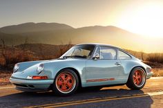 We drive the Porsche 911 Reimagined by Singer Automotive Designs - aol.it/17O5Ito
