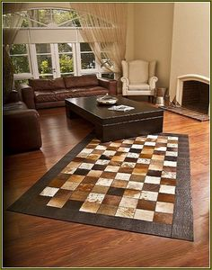 Enthralling Patchwork Cowhide Rugs At Australia Home Design Ideas