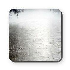 Rain On The Flint Square Coaster