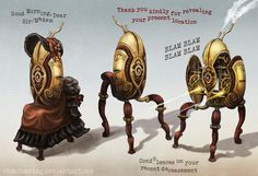 Steampunk Portal: The Gentry Turret by risachantag (DeviantArt) (Not me, of course) - Imgur