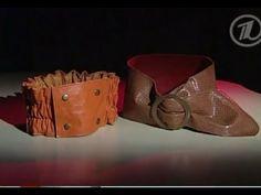 Модные ремни своими руками - YouTube
