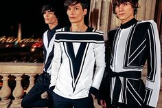 BALMAIN MEN'S PRE-FALL 2018 COLLECTION