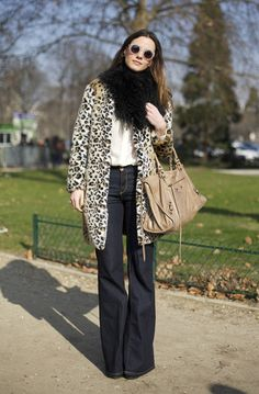 keeping the animal print simple - well done