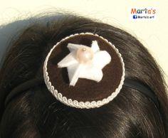 felt headband for a birthday girl