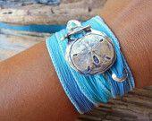 Beach Jewelry, Beach Bracelet, Sand Dollar Jewelry, Sand Dollar Bracelet, Beach Fashion Jewelry