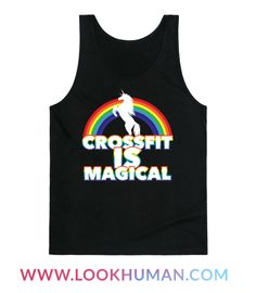 Crossfit is magical and uses its magic to help your muscles get swole and your body get fit! Sport this Crossfit Is Magical shirt the next time you work on your jerk at the gym!