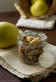 Apple Pie Granola - Sweet Remedy