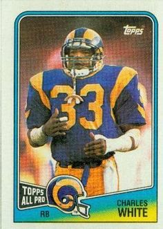 Charles White Los Angeles Rams (Football Card) 1988 Topps #289 by Topps. $0.01. 1988 Topps #289 - Charles White