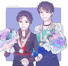 Men ~ Yuzuru Hanyu (Japan) & Shoma Uno (Japan)