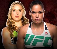 Amanda Nunes fará primeira defesa de cinturão contra Ronda no UFC 207 @canalCombate