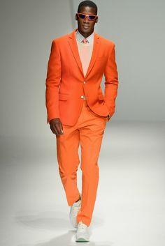 David Agbodji for Salvatore Ferragamo SS13 Milan Fashion Week
