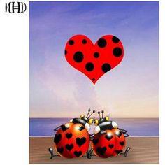 5D Diamond Painting Tinkerbell and Ladybug Kit