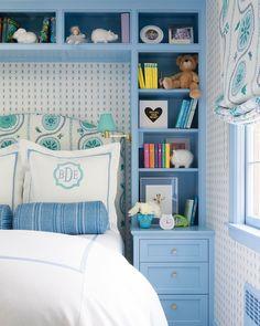 🌟Tante S!fr@ loves this📌🌟 Big Girl Bedrooms, Little Girl Rooms, Guest Bedrooms, Girls Bedroom Blue, Guest Room, Highland Homes, Room Color Schemes, Girl Bedroom Designs, Blue Rooms