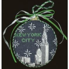 NYC Skyline - City Bauble