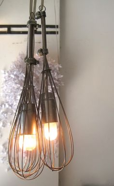 #beaters, #lamps, #reclaimed utensils