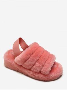 Fuzzy Sandals, Slingback Sandal, Cheap Shoes, Cute Shoes, Join, Platform, Clothes, Fashion, Cheap Dress Shoes