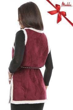 Vesta lunga din cojoc | Madelia Fashion - Magazin online haine și rochii de damă Velvet, Collection