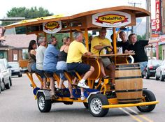 Pedal Pub | 10 Wacky Ways to Get Around would like to try a few of these.