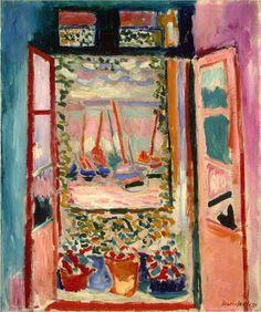 Henri Matisse - Open Window, Collioure, 1905