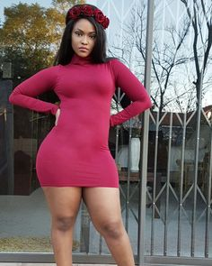 How's your Monday? Monday Dress, Beautiful Gorgeous, Black Girls, African Fashion, Curvy, Sexy Women, Dresses, Men Cave, Posing Ideas