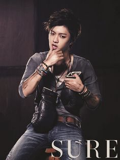 Cross Gene Shin Won Ho (BIG) - SURE Magazine - Aug 2012