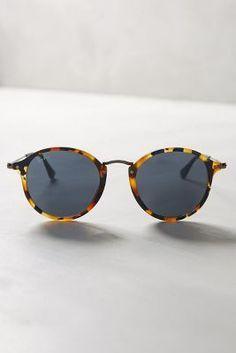 Ray-Ban Round Icon Sunglasses Brown Motif One Size Eyewear Óculos De Sol  Feminino, db94773a2b