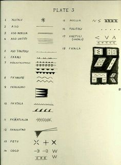 More samoan symbols and meanings