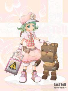 Robot Bears and girls
