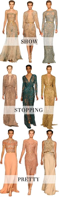 There are no words to accurately describe my love for Elie Saab. Seriously.
