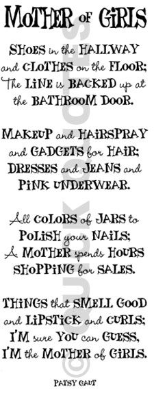 Mother of Girls - Click image to find more DIY & Crafts Pinterest pins