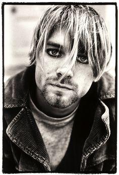 Kurt Cobain   by Martyn Goodacre, c.1990