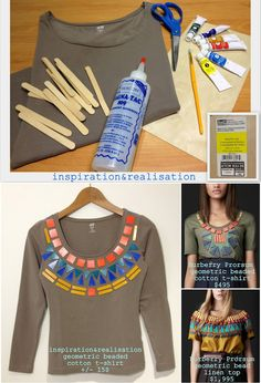 Burberry Prorsum's Beaded Top | 26 Designer Knock-Off DIYs That Cost Way Less Than The Real Thing