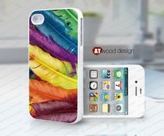 iphone case iphone 4s case iphone 4 cover white by Atwoodting, $13.99