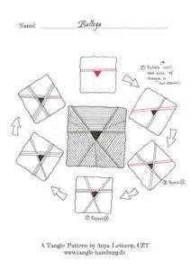 BALLOYA – A New Tangle Pattern – Ein neues Tangle Muster