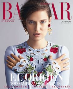 Bianca Balti on Harper's Bazaar Mexico November 2015 cover