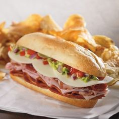 Italian Deli Grinder combines salami, pepperoni, ham and more. #recipe #sandwich #grinder #italian