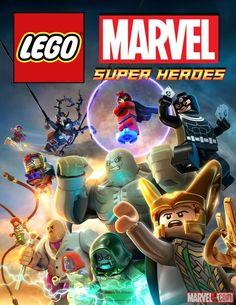 The villain poster for LEGO Marvel Super Heroes