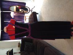 Back of bridesmaid convertible dress